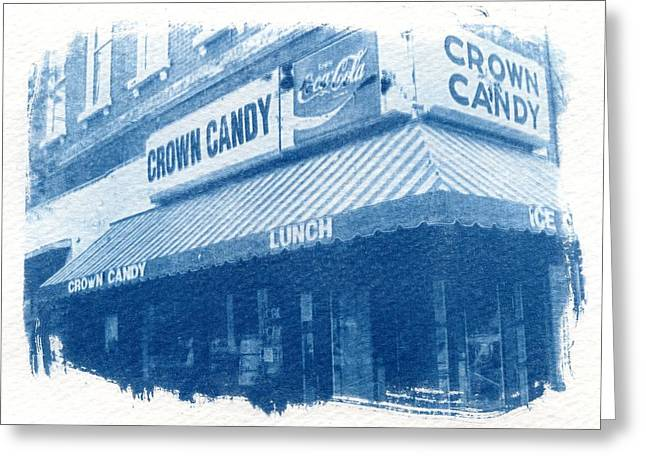 Crown Candy Greeting Card by Jane Linders