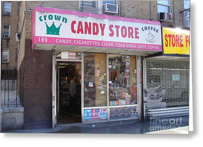 Greeting Card featuring the photograph Crown Candy Store  by Cole Thompson