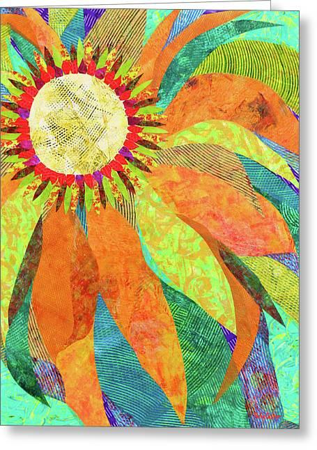 Crown Of Petals Greeting Card