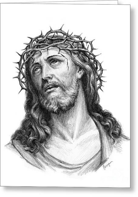 Crown Of Thorns Greeting Card by Christopher Panza
