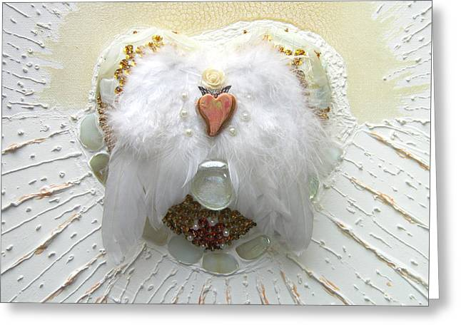 Crowning Of The Pure Heart Greeting Card by Heidi Sieber