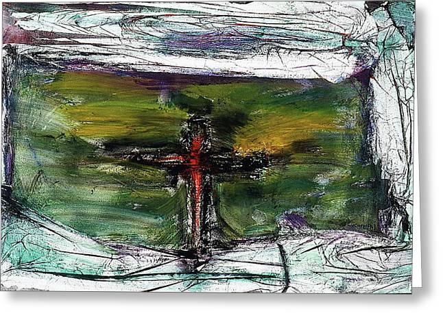 Crucifixion #3 Greeting Card
