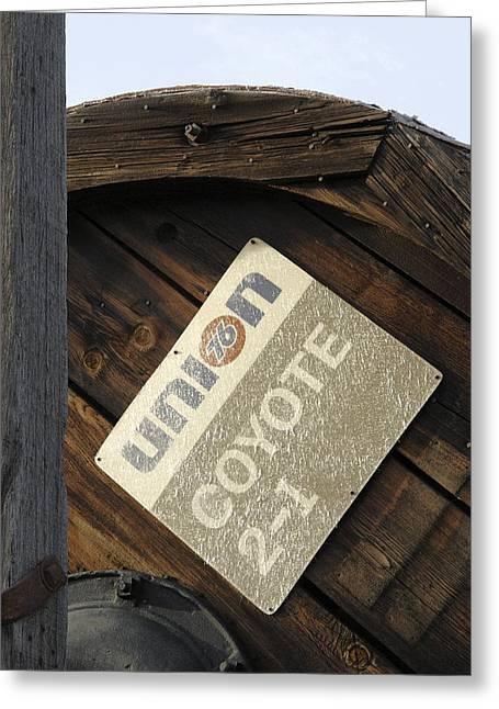 Crude Oil Production Inventory Dissmissed Greeting Card by Viktor Savchenko