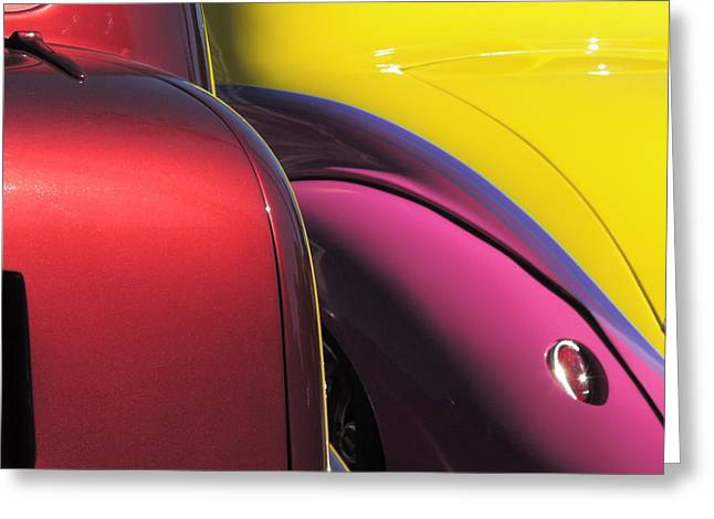 Cruise In Colors Greeting Card