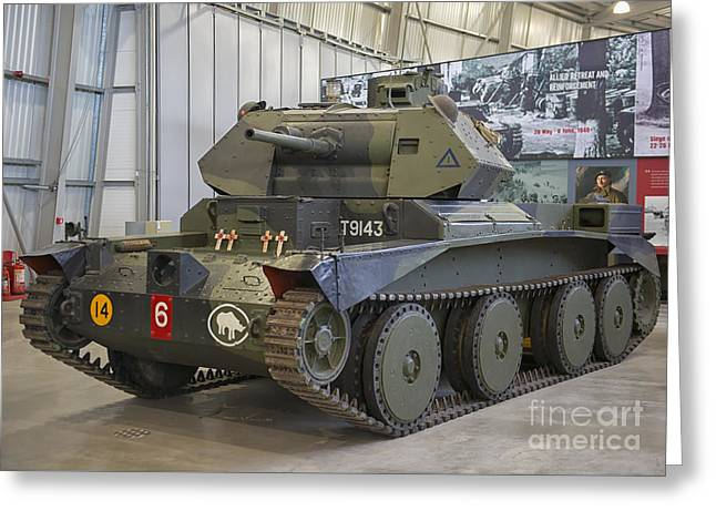 Cruiser Tank Mark IIi In Bovington, Uk Greeting Card by Ivan Batinic
