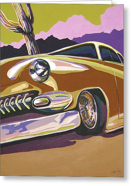Cruisin Greeting Card