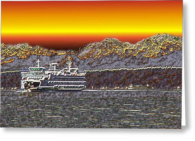 Cruisin The Sound Greeting Card by Tim Allen