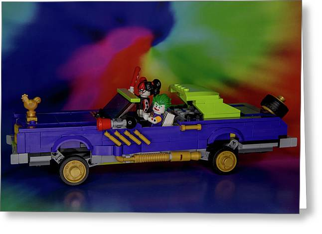 Cruising For Trouble Greeting Card by David Stasiak