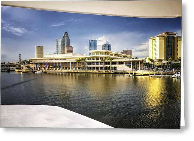 Cruising To Tampa In Hdr Greeting Card