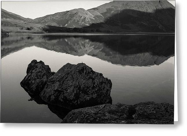 Crummock Water Reflection Greeting Card