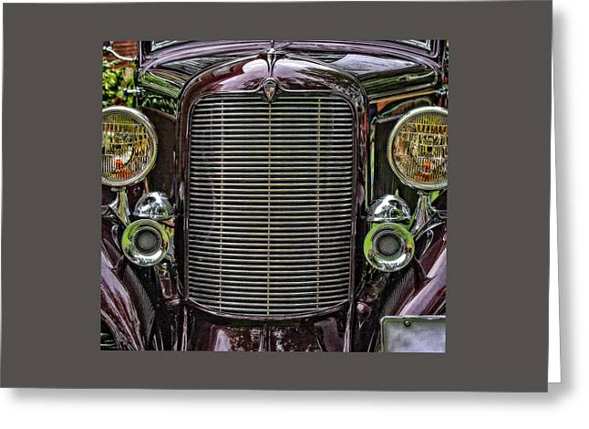 Crusin' With A 32 Desoto Greeting Card
