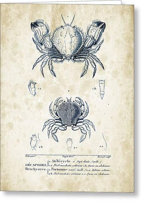 Crustaceans - 1825 - 02 Greeting Card