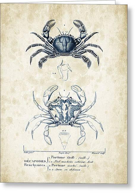 Crustaceans - 1825 - 03 Greeting Card