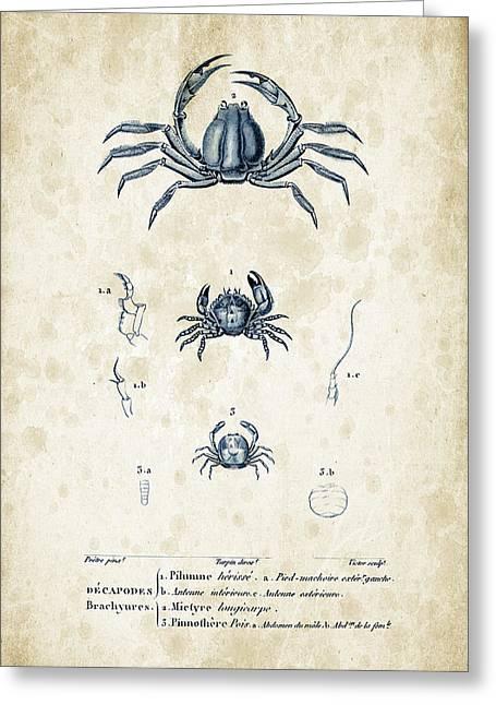Crustaceans - 1825 - 09 Greeting Card