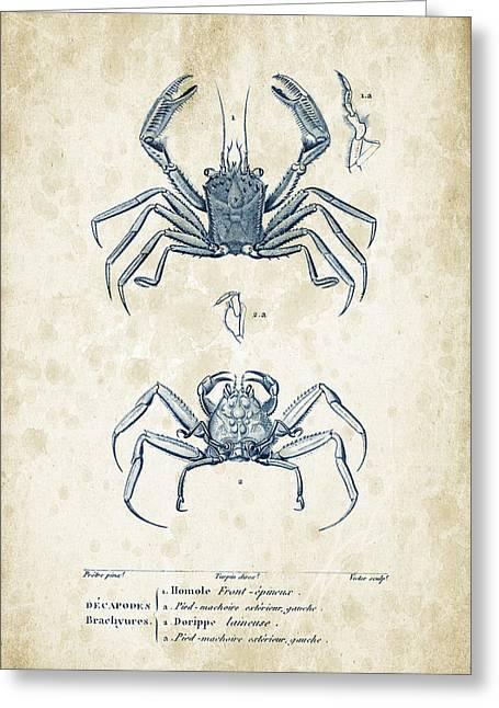 Crustaceans - 1825 - 15 Greeting Card