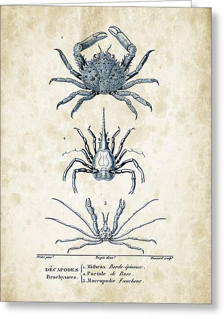 Crustaceans - 1825 - 21 Greeting Card