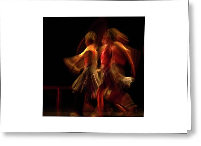 Greeting Card featuring the photograph Crychord 10 by Catherine Sobredo