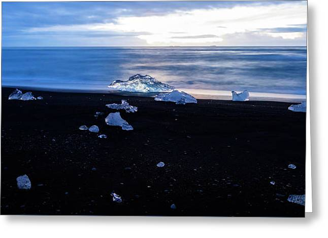 Greeting Card featuring the photograph Crystal Beach Iceland by Brad Scott