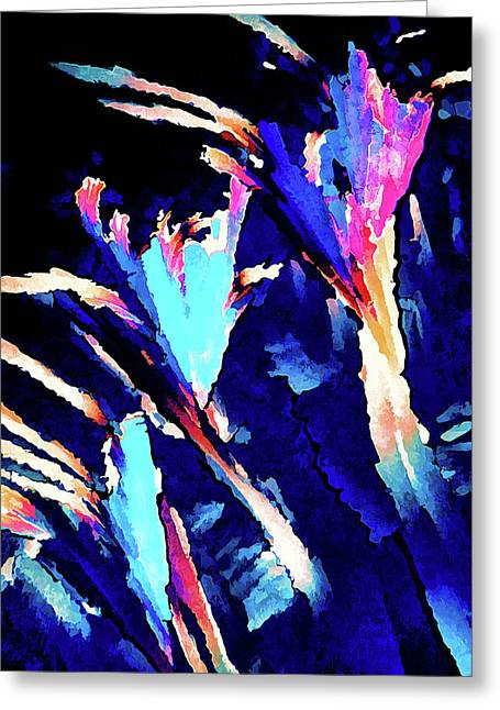 Crystal C Abstract Greeting Card by ABeautifulSky Photography