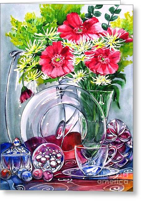 Crystal Clear In Color No 2 Greeting Card