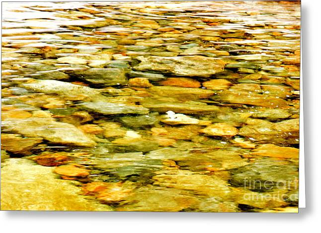 Crystal Clear Greeting Card by Patti Whitten