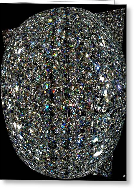 Crystal Cool Greeting Card by Will Borden