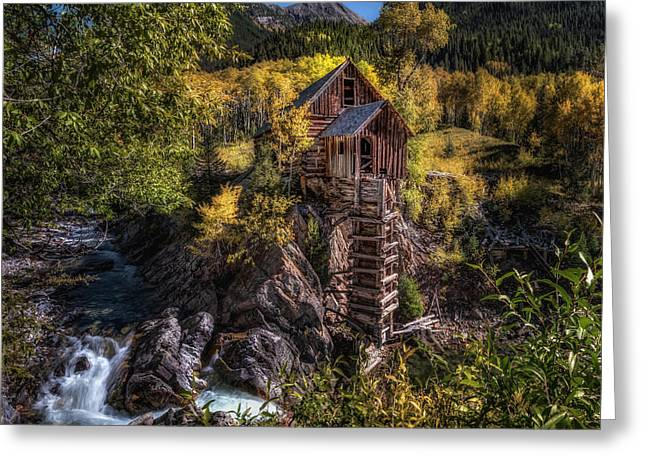 Crystal Mill Colorado Greeting Card