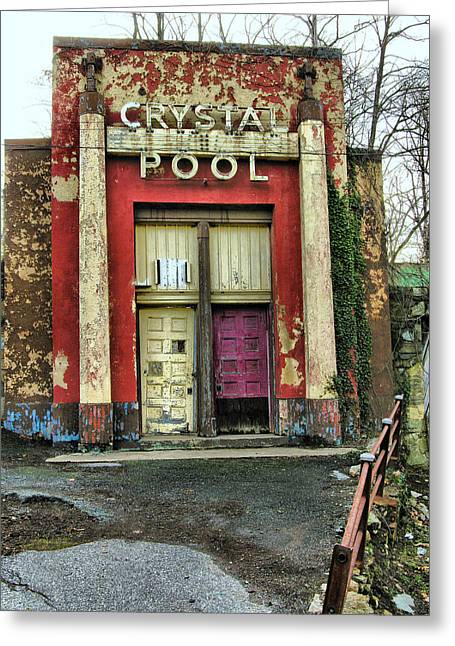 Crystal Pool II Greeting Card by Steven Ainsworth