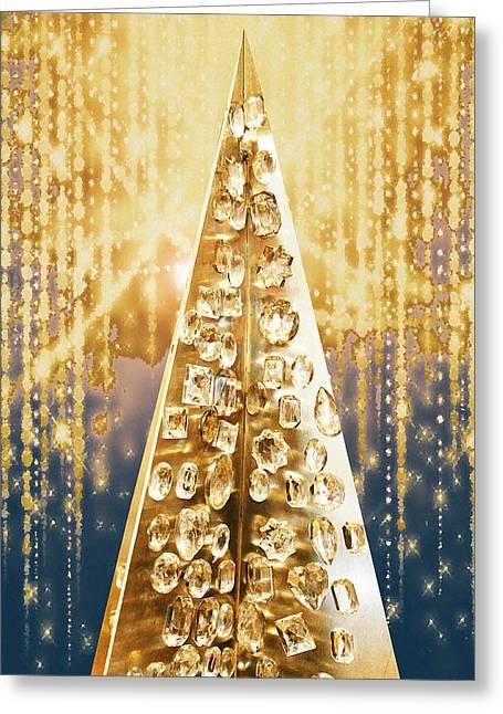 Crystal Tree Greeting Card