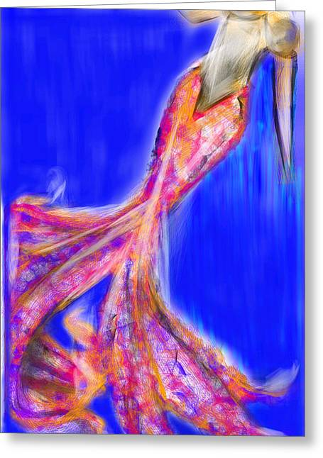 Crystalized Greeting Card by Crystal Mendez
