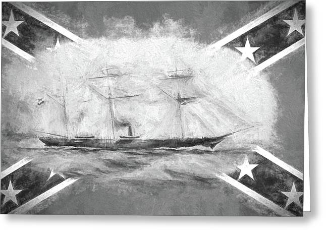 Css Alabama Greeting Card by JC Findley