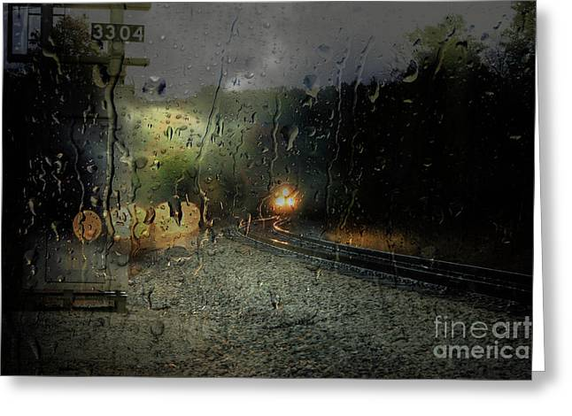Csx And Storm Greeting Card