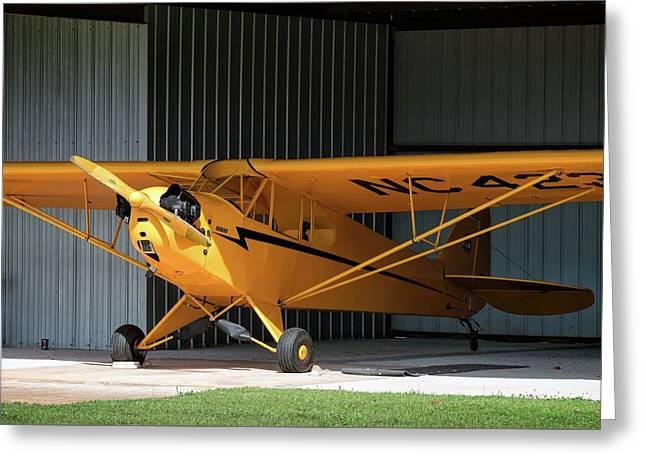 Cub Hangar 0 2017 Christopher Buff, Www.aviationbuff.com Greeting Card