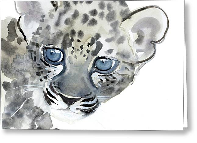 Cub Greeting Card