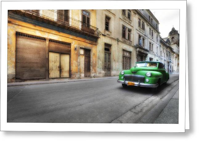 Cuba 02 Greeting Card by Marco Hietberg