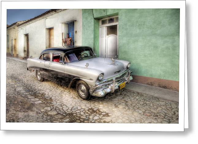 Cuba 04 Greeting Card by Marco Hietberg