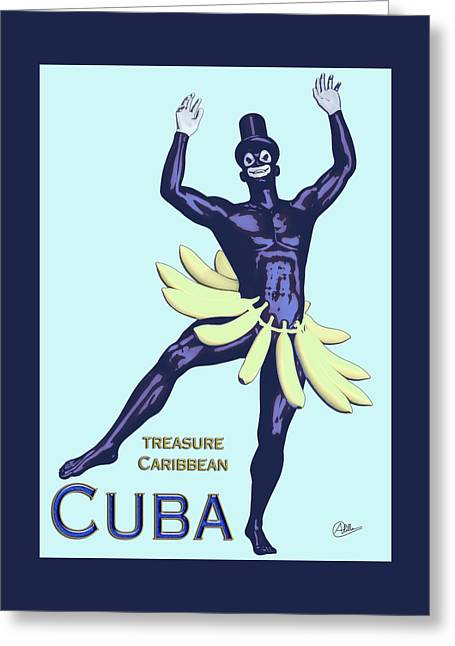 Cuba  Greeting Card by Quim Abella