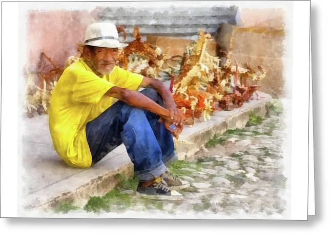 Cuban Artist Greeting Card