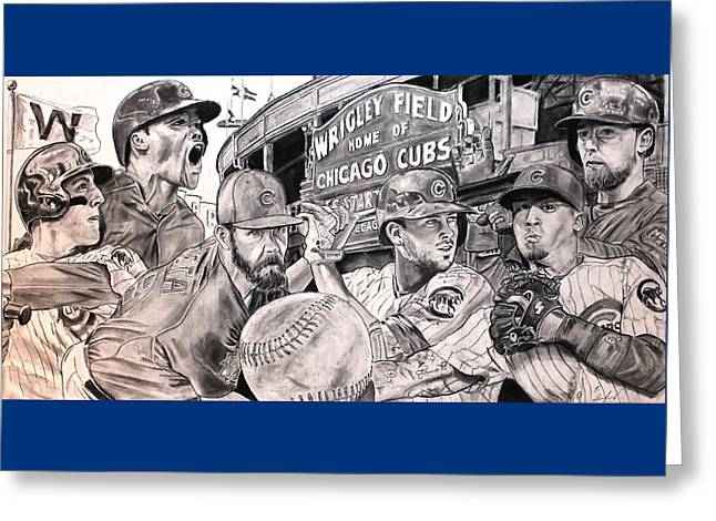 Cubs World Series Greeting Card
