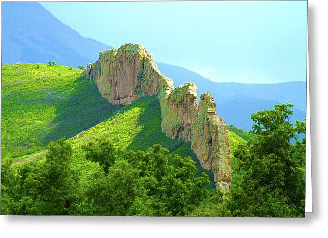 Greeting Card featuring the photograph Cuchara Ridge by Marie Leslie