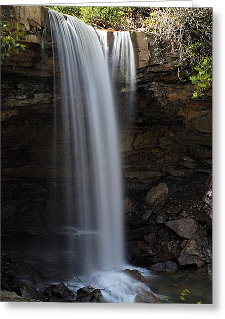 Cucumber Falls 3 Greeting Card