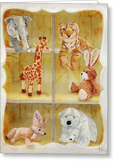 Cuddly Clubhouse Greeting Card