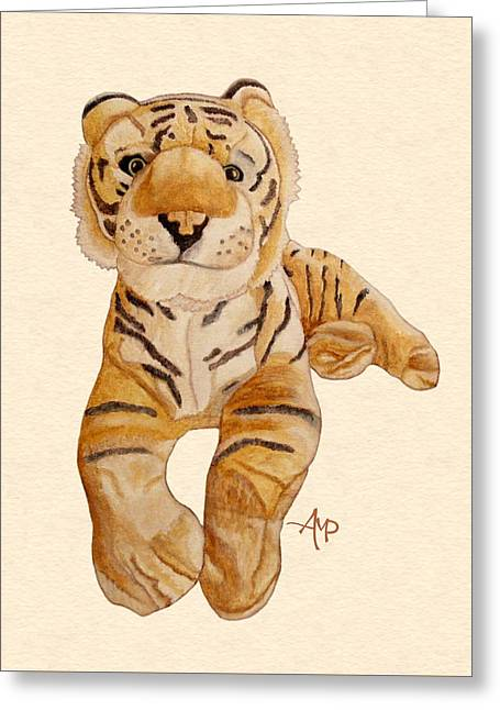 Cuddly Tiger Greeting Card