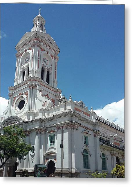 Cuenca Iglesia De San Francisco Greeting Card