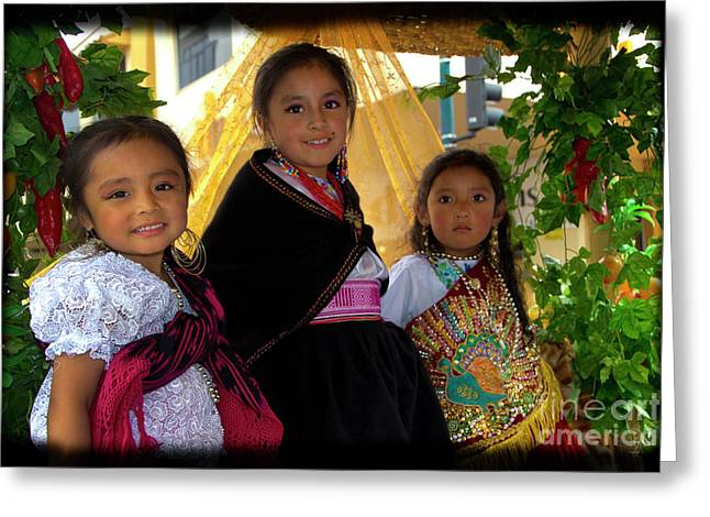 Cuenca Kids 860 Greeting Card