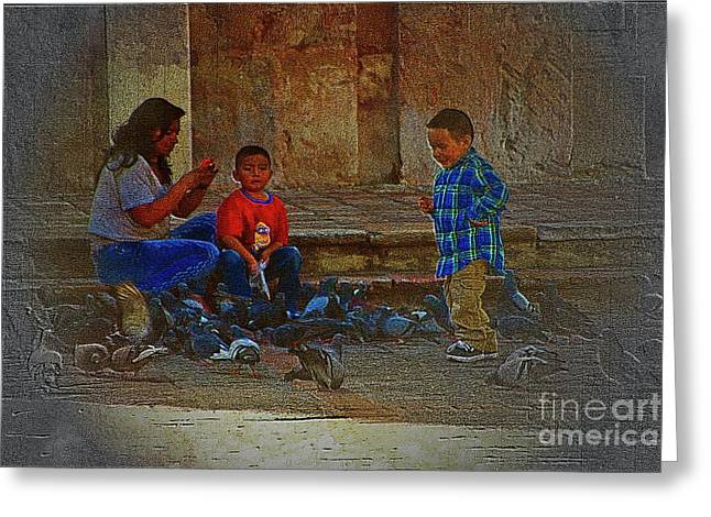 Cuenca Kids 875 Greeting Card