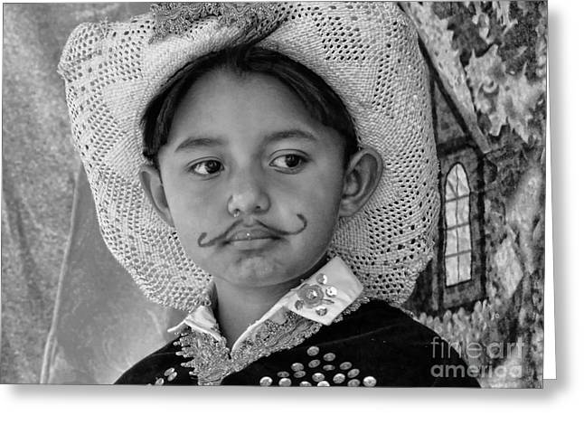 Cuenca Kids 883 Greeting Card by Al Bourassa