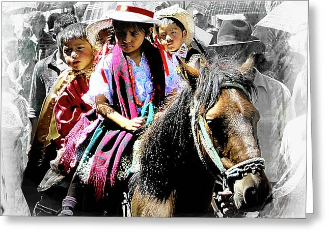 Cuenca Kids 946 Greeting Card