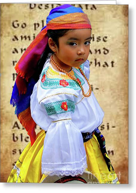Cuenca Kids 975 Greeting Card