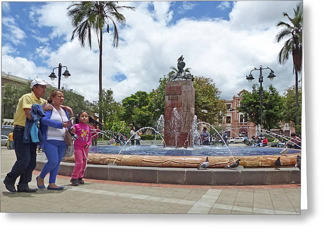 Cuenca Street Life 78 Greeting Card